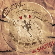 Artwork for '4 Shots' EP by Collateral
