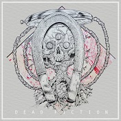 Artwork for the self-titled EP by Dead Fiction
