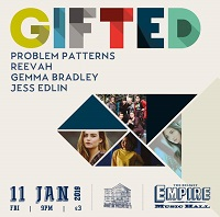 Poster for Problem Patterns at Belfast's Empire Music Hall