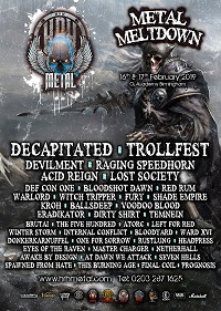 Poster for HRH Metal