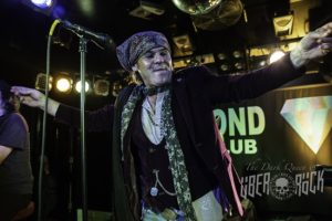 Spike of The Quireboys at the Diamond Rock Club