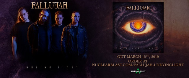 Poster for Undying Light by Fallujah