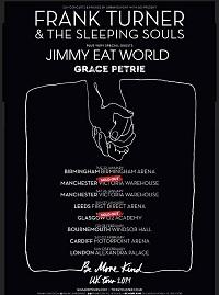 Frank Turner and The Sleeping Souls/Jimmy Eat World/Grace Petrie – Glasgow, O2 Academy – 29 January 2019