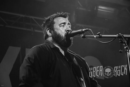 King King live at Cardiff Tramsheds.