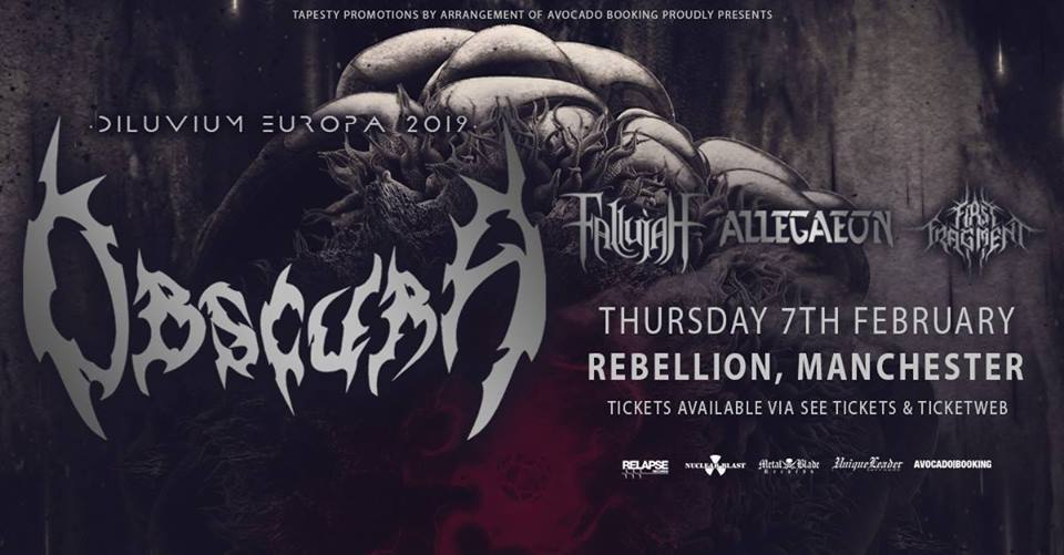 Poster for Obscura at Rebellion