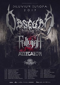 Obscura/Fallujah/Allegaeon/First Fragment – Manchester, Rebellion – 7 February 2019