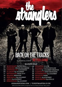 Poster for The Stranglers' Back On The Tracks tour
