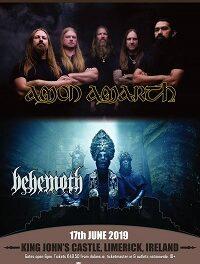 GIG NEWS: Amon Amarth and Behemoth to invade Ireland for massive co-headline show