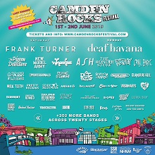 Updated poster for Camden Rocks 2019