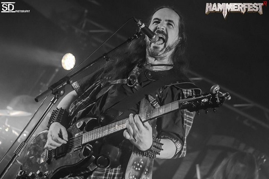 Cruachan at Hammerfest 2019 - Photo by Simon Dunkerley