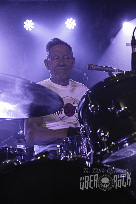 Paul Cook of The Professionals live at Limelight Belfast February 2019