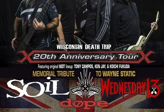 Static-X/SOiL/Wednesday 13/Dope – Southampton, Engine Rooms – 29 September 2019