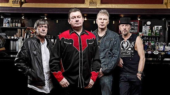 Publicity photo of Stiff Little Fingers