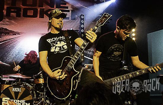 Stone Broken live at The Globe, Cardiff, February 2019