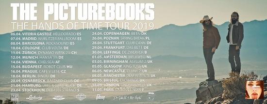 The Picturebooks 2019 tour poster