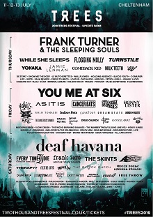 Updated 2000 Trees festival poster