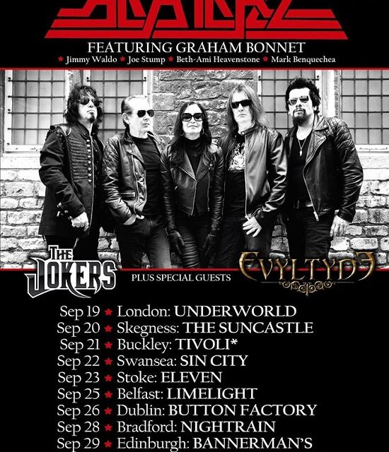 TOUR NEWS: There's no escape from Alcatrazz this Autumn