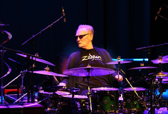 Drum Legends (Ginger Baker/Herman Rarebell/Pete York) – Brighton, The Dome – 12 April 2019