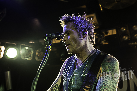 Mike Tramp at the Diamond Rock Club, 20 April 2019. Photo by The Dark Queen