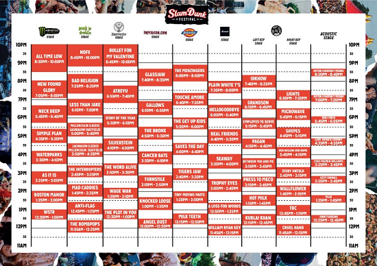 Slam Dunk 2019 Clash Finder