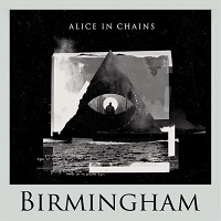 Flyer for Alice In Chains in Birmingham, May 2019