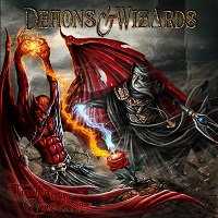 Artwork for Touched By The Crimson King by Demons & Wizards