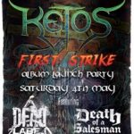 Ketos/Dead Label/Death Of A Salesman – Belfast, Voodoo – 4 May 2019