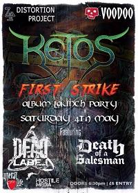 Poster for Ketos album launch show