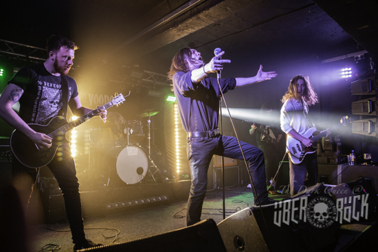 Elder Druid at the Bloodstock Metal 2 The Masses final, 17 May 2019