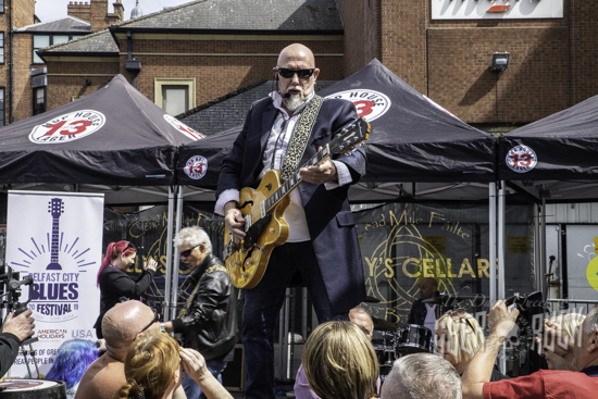 FESTIVAL NEWS: Belfast to rock to the blues again at end of June