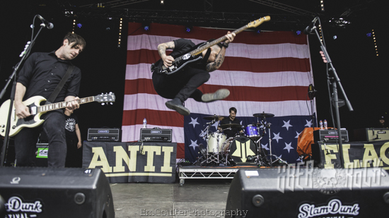Anti-Flag at Slam Dunk North 2019