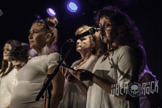 The Clanmil Community Choir supporting Cormac Neeson at The Black Box, Belfast