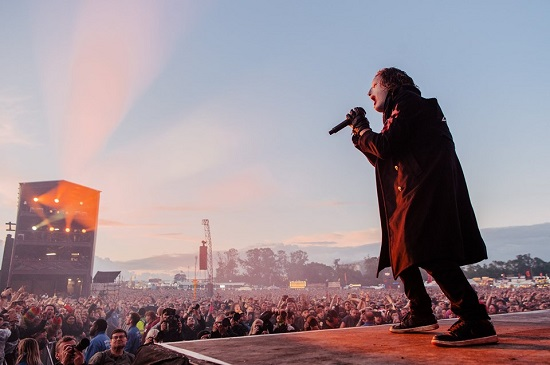Slipknot at Download 2019. Photo courtesy of Download.