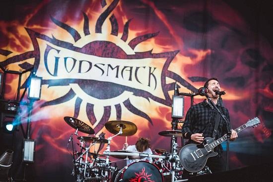 Godsmack at Download 2019. Photo courtesy of Download.