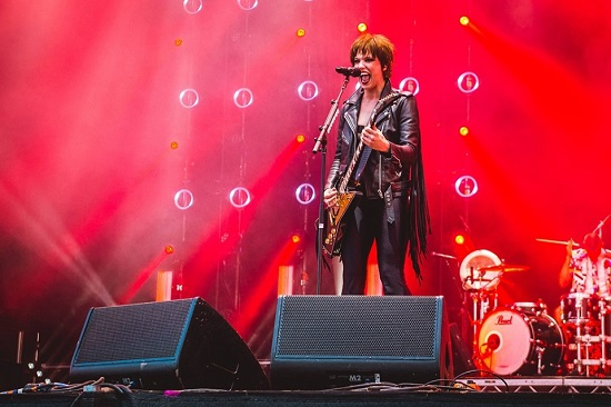 Halestorm at Download 2019. Photo courtesy of Download.