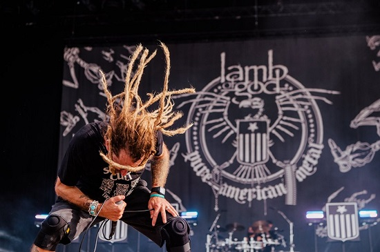 Lamb Of God at Download 2019. Photo courtesy of Download.