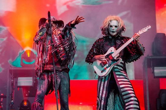 Rob Zombie at Download 2019.