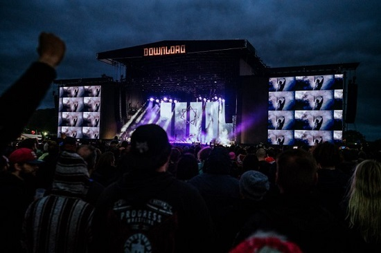Tool at Download 2019. Photo courtesy of Download.