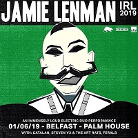 Poster for Jamie Lenman in Belfast, 1 June 2019
