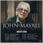 TOUR UPDATE: John Mayall doesn't slow down as he adds Irish dates