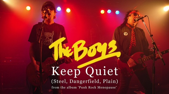 VIDEO RELEASE: The Boys tell us to 'Keep Quiet'