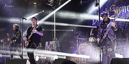 Black Stone Cherry live at Caerphilly Castle, 13 July 2019