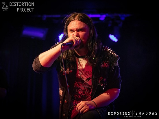 Scimitar at Limelight 2, Belfast, 6 July 2019. Photo courtesy of Exposing Shadows.
