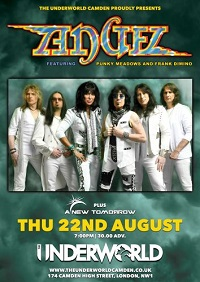 Poster for Angel at The Underworld, Camden