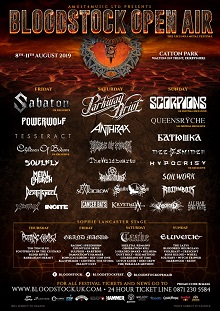 Bloodstock Open Air – 8 August 2019