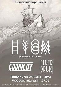 Hundred Year Old Man/Skypilot/Elder Druid – Belfast, Voodoo – 2 August 2019