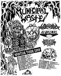 TOUR NEWS: Municipal Waste announce December dates
