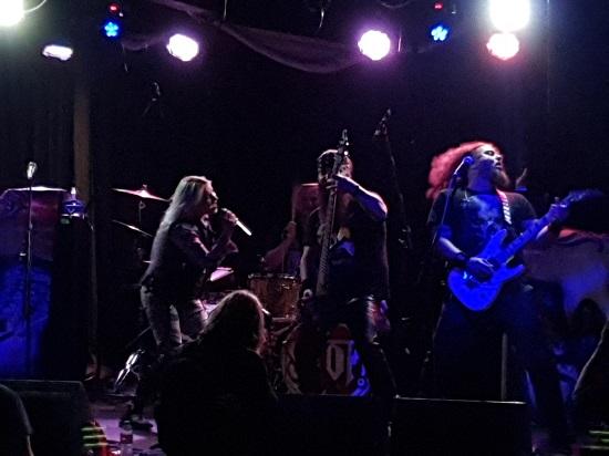 Scarlet Aura live at Rebellion, Manchester, 2 September 2019