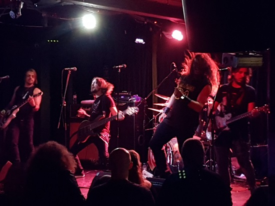 Soto live at Rebellion, Manchester, 2 September 2019