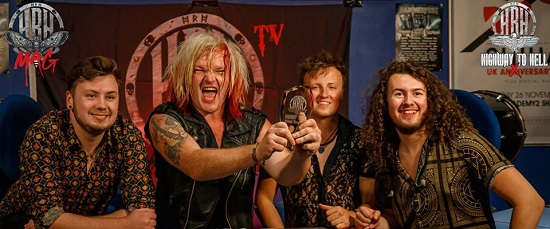 Twister, winners of HRH HIghway To Hell X